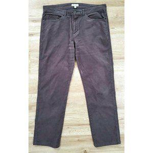 Peter Millar Mens Corduroy Gray Pants Size 34